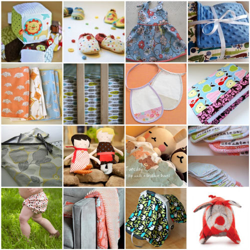 16 Sewing Tutorials for Baby