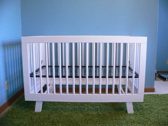 Make A Crib Skirt For The Babyletto Hudson Naturally