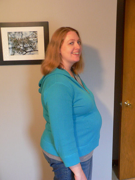 Baby Bump at 26 weeks and 6 days
