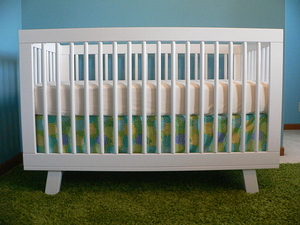 Crib Skirt for Babyletto Hudson Crib