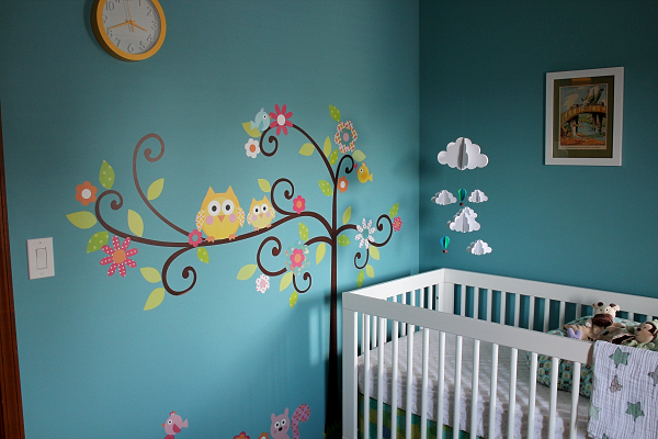 Wall Decals in the Nursery