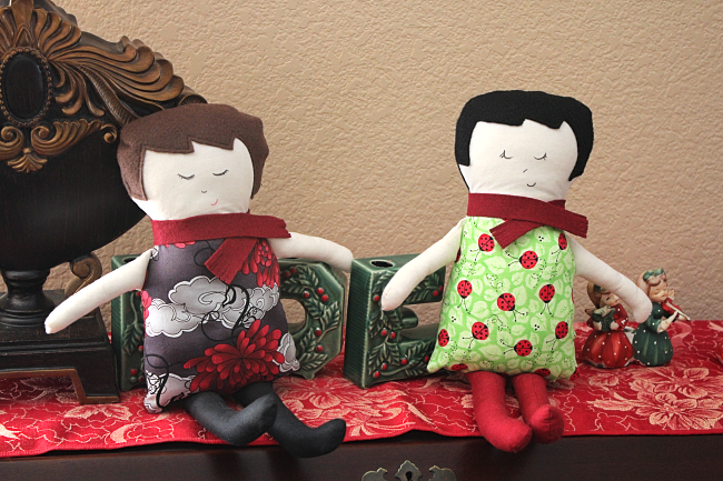 Black Apple Dolls