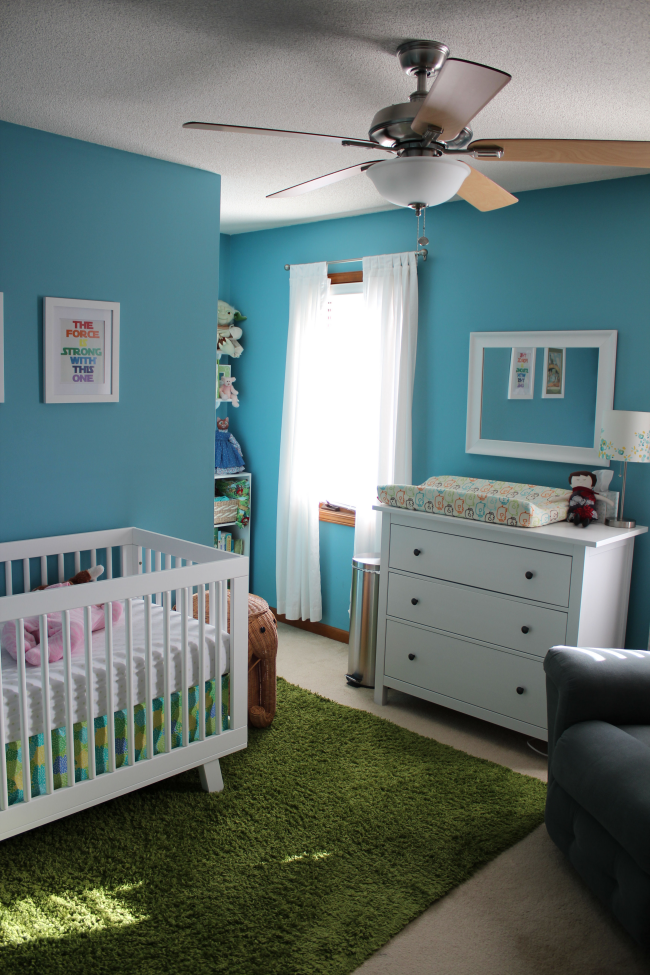 Alexis' Bright & Modern Nursery  Naturally Contrary