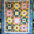 Brown Bear Quilt Front