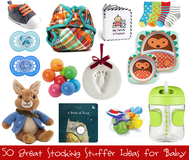 50 Great Stocking Stuffer Ideas for Baby