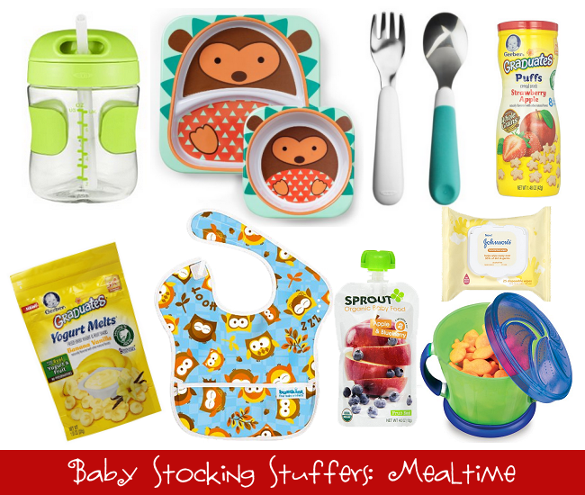 Baby Stocking Stuffers: Mealtime