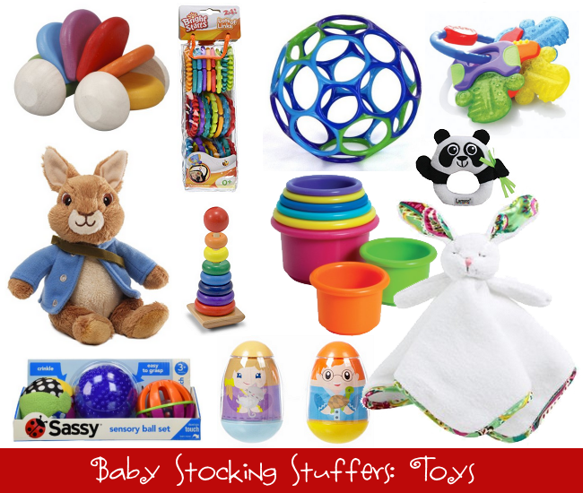 Baby Stocking Stuffers: Toys