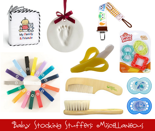 Baby Stocking Stuffers: Miscellaneous