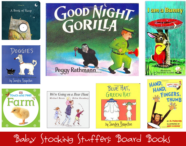 Baby Stocking Stuffers: Board Books