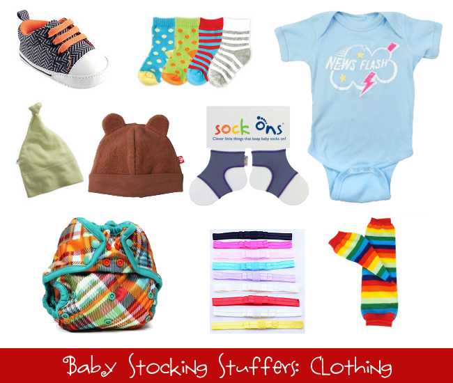 Baby Stocking Stuffers: Clothing
